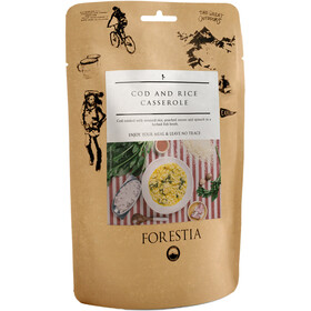 Forestia Outdoor Pasto pronto con carne 350g, Cod and Rice Casserole